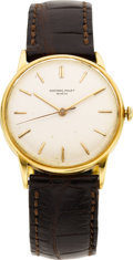 Estate Jewelry:Watches, Audemars Piguet Gentleman's Gold Wristwatch, circa 1950. ...