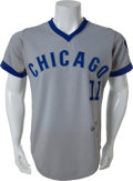 Baseball Collectibles:Uniforms, 1973 Don Kessinger Game Worn Chicago Cubs Jersey, MEARS A9.5....