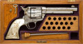 Handguns:Single Action Revolver, Cased London Engraved Colt Frontier Six-Shooter Single Action Revolver....