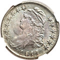 Bust Half Dollars, 1811 50C Small 8 MS64 NGC. O-111a, R.1....