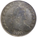 Early Half Dollars, 1806 50C Pointed 6, Stem Genuine PCGS. O-126, Low R.7....