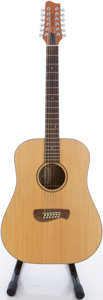 Musical Instruments:Acoustic Guitars, Tacoma DM912 Natural 12 String Acoustic Guitar, #F0080090....
