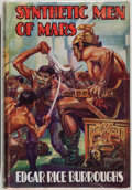 Books:Science Fiction & Fantasy, Edgar Rice Burroughs. Synthetic Men of Mars. London:Methuen, [1941]. First British edition, first printing. Octavo....