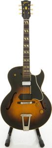 Musical Instruments:Electric Guitars, 1953 Gibson ES-175 Sunburst Archtop Electric Guitar, #Y5197 18....