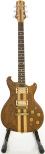 Musical Instruments:Electric Guitars, 1979 Gretsch 8250 Beast Model Walnut Solid Body Electric Guitar,#12-9319....