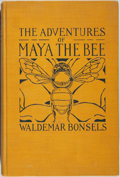 Books:Children's Books, Waldemar Bonsels. The Adventures of Maya the Bee. New York:Thomas Seltzer, 1922. First edition, first printing. Oct...