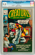 Bronze Age (1970-1979):Horror, Creatures on the Loose #13 (Marvel, 1971) CGC VF/NM 9.0 Whitepages....