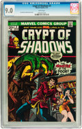 Bronze Age (1970-1979):Horror, Crypt of Shadows #2 (Marvel, 1973) CGC VF/NM 9.0 White pages....