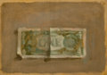 Fine Art - Painting, American:Contemporary   (1950 to present)  , ROBERT KULICKE (American, 1924-2007). One Dollar Bill. Oilon canvas board. 7 x 10 inches (17.8 x 25.4 cm). THE JEAN A...