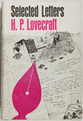 Books:Horror & Supernatural, H. P. Lovecraft. Selected Letters. Volume II. 1925-1929. Sauk City: Arkham House, 1968. First edition, first printin...