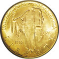 "Commemorative Gold: , 1926 $2 1/2 Sesquicentennial MS65 PCGS. The full name of this issueis the ""Sesquicentennial of American Independence Quart..."