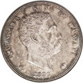 Coins of Hawaii: , 1883 $1 Hawaii Dollar MS64 NGC. A delectable and original near-Gemof this in-demand Hawaii i...