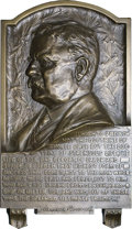 U.S. Presidents & Statesmen: , Pair of Theodore Roosevelt Plaques. A very interesting pair ofplaques that should be worthy of consideration by a wide rang...(Total: 2 pieces)