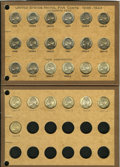Sets and Partial Sets: , An Uncertified Partial Set of Jefferson Nickels. All dates andmintmarks between 1938 and 1945 are included. Both the 1942 a...(Total: 25 coins)