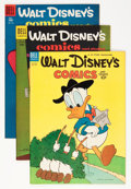 Golden Age (1938-1955):Cartoon Character, Walt Disney's Comics and Stories Group (Dell, 1953-56) Condition:Average VF+.... (Total: 5 Comic Books)