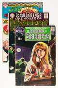 Silver Age (1956-1969):Horror, House of Mystery/House of Secrets Group (DC, 1959-74) Condition:Average VG.... (Total: 20 Comic Books)