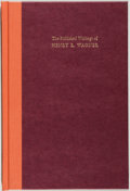 Books:Reference & Bibliography, Henry R. Wagner [subject]. Ruth Frey Axe. The Published Writingsof Henry R. Wagner. New Haven: William Reese, 1...
