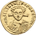 Ancients:Byzantine, Ancients: Justinian II (second reign, AD 705-711). AV solidus (22mm, 4.30 gm, 6h). ...