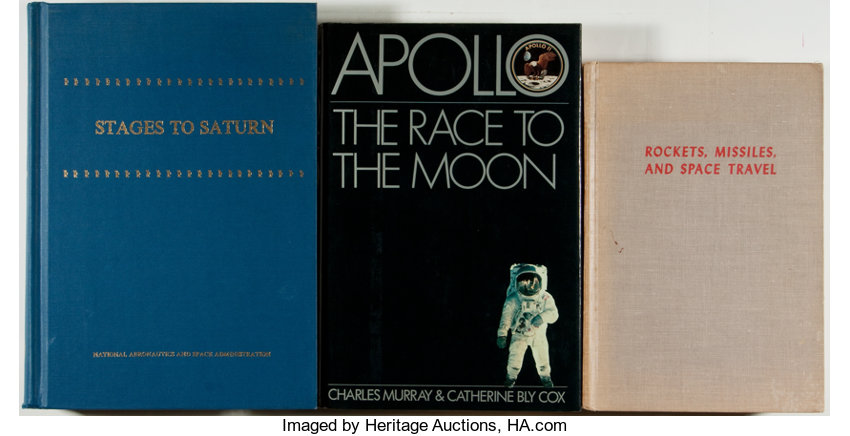 Space Exploration]  Lot of 3 Books About the American Space