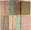 Books:Religion & Theology, [Religious Pamphlets]. Lot of 15 Protestant Religious Tracts. including: [Episcopal Tracts]. [New York: Protestant Episc...