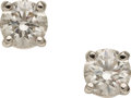 Estate Jewelry:Earrings, Diamond, Platinum Earrings, Tiffany & Co. . ...
