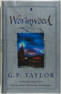 Books:Horror & Supernatural, G. P. Taylor. SIGNED. Wormwood. London: Faber and Faber,[2004]. Special first edition, with an introduction b...