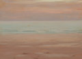 Fine Art - Painting, American:Modern  (1900 1949), HERMANN DUDLEY MURPHY (American, 1867-1945). Low Tide. Oilon canvasboard. 10 x 14 inches (25.4 x 35.6 cm). Signed, titl...