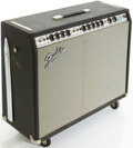 Musical Instruments:Amplifiers, PA, & Effects, 1970's Fender Twin Reverb Silverface Guitar Amplifier, #39588....