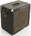 Musical Instruments:Amplifiers, PA, & Effects, 1960's Ampeg B-15N Bass Guitar Amplifier, #408309....