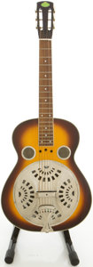 Musical Instruments:Resonator Guitars, Regal Squareneck Sunburst Resonator Guitar, 9903023...