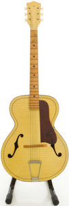 Musical Instruments:Acoustic Guitars, Circa 1960's Harmony Catalina Yellow Archtop Acoustic Guitar....