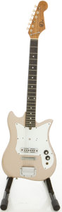 Musical Instruments:Electric Guitars, Circa late 1960's Kay KE-10 Solid Body Electric Guitar, #101475....