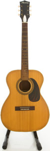 Musical Instruments:Acoustic Guitars, Circa Early 1970's Harmony Natural Acoustic Guitar....