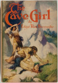 Books:Science Fiction & Fantasy, [Jerry Weist]. Edgar Rice Burroughs. The Cave Girl. NewYork: Grosset & Dunlap, [1939]. Later edition. Octavo. 3...