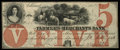 Obsoletes By State:Iowa, Ashland, IA- Farmers and Merchants Bank $5 Oct. 20, 1857 UNL Oakes 4-4. ...