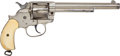 Handguns:Single Action Revolver, Rare Etched Panel 1878 Colt Frontier Six-Shooter Double ActionRevolver together with Colt Factory Letter....