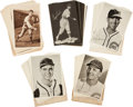 Baseball Cards:Sets, 1931-44 Chicago Cubs Team Picture Pack Sets (5) Plus Envelopes....