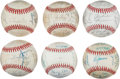 Autographs:Baseballs, 1971-1991 Chicago Cubs Team Signed Baseballs Lot of 20. ...