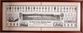 "Baseball Collectibles:Others, 1910 Chicago Cubs ""A Yard of the National Game"" Panoramic Print...."