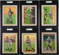 Baseball Cards:Sets, 1910-11 T3 Turkey Red Chicago Cubs Collection (6). ...