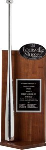 Baseball Collectibles:Others, 1981 Andrew Dawson Silver Slugger Award....
