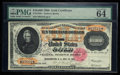 Large Size:Gold Certificates, Fr. 1225h $10000 1900 Gold Certificate PMG Choice Uncirculated 64.. ...