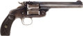 Handguns:Single Action Revolver, Scarce Low Serial Number Smith & Wesson New Model No. 3 Single Action Revolver....