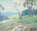 MAURICE BRAUN (American, 1877-1941) A Day in June Oil on canvas 25 x 30 inches (63.5 x 76.2 cm)
