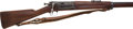 Long Guns:Bolt Action, U.S. Springfield Model 1896 Krag-Jorgensen Bolt Action Military Rifle....