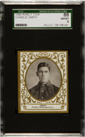 Baseball Cards:Singles (Pre-1930), 1909 T204 Ramly Charlie Smith SGC 88 NM/MT 8 - Finest SGC Known!...