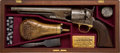 Handguns:Muzzle loading, Rare Early 1861 Production U.S. Model 1860 Colt Percussion Revolverin Associated Case with Accoutrements....