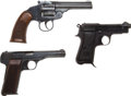 Handguns:Semiautomatic Pistol, Lot of Three Modern Pistols.... (Total: 3 Items)