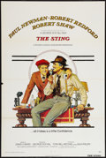 """Movie Posters:Crime, The Sting (Universal, 1974). One Sheet (27"""" X 41"""") Flat Folded.Crime.. ..."""