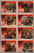 """Movie Posters:Exploitation, The Wild Angels (American International, 1966). Lobby Card Set of 8 (11"""" X 14""""). Exploitation.. ... (Total: 8 Items)"""